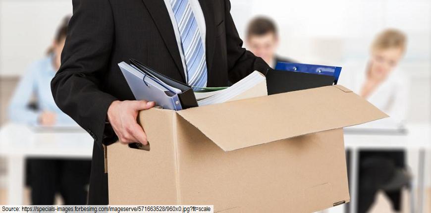man carries box