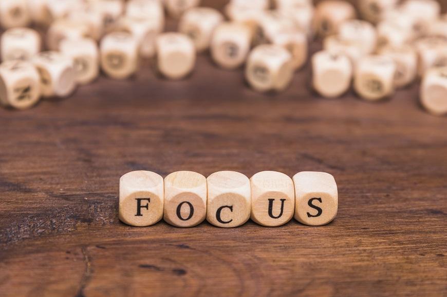 Focus thru crisis